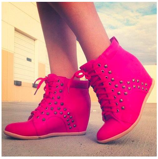 Fashion Beauty Inc: 6 Super Hot & Super Trendy Sneaker Wedges