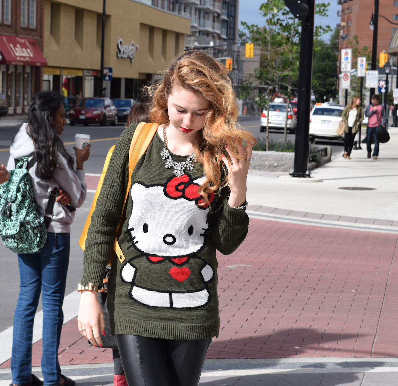 Fashion Beauty Inc: What I Wore: Back To School #OOTD Featuring Hello Kitty