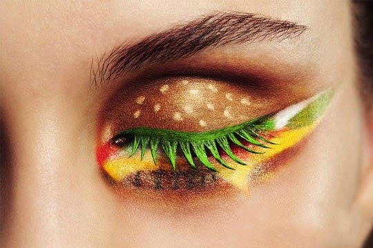 This makeup look was just too cool not to include in the list of most inspiring makeup looks. The eye makeup is so well done, and it's easy ...