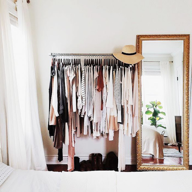 Fashion Beauty Inc: Interior Crush: 10 Gorgeous Clothing Rack Ideas For Small